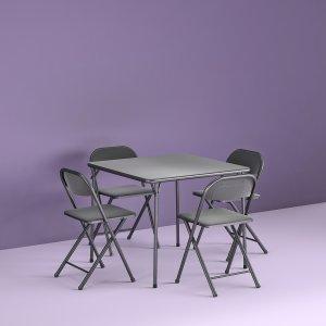 Cosco 多功能可折叠桌椅5件套,聚餐打麻将首选