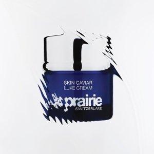 线上8折起+额外8.2折La Prairie精选护肤产品罕见折上折 鱼子酱 冰晶系列收起来
