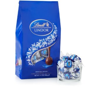 Lindt买2只需$40 松露黑巧克力礼包75颗装