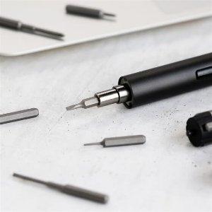 带56个刀头,LED无影灯,收纳盒,收纳板等京造 电动螺丝刀套装