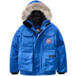直接7.5折 现在$562.50 防雨雪Canada Goose 男童羽绒服 抵抗零下-30℃极寒天气