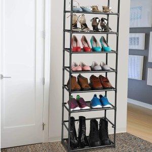fiducial home 8层可调节收纳鞋架,靴子也能放下