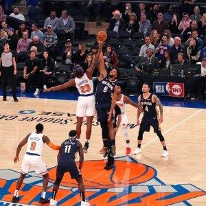 $93 (原价$146.74)纽约尼克斯NBA比赛 主场门票