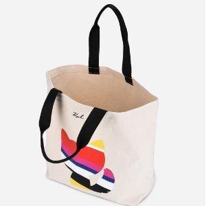 低至5折 £22入封面款彩虹猫咪帆布包黒五价:Karl Lagerfeld 老佛爷精选美包折扣热卖 收可爱猫咪包