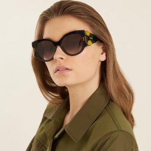 低至3折 £38起入潮流酷炫墨镜Matchesfashion 精选大牌墨镜折扣热卖 Prada、Dior、Tom Ford都有