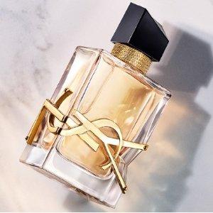 满£50送化妆包+3件套大礼YSL 香水上新 新款水光唇釉、小金条、圆管色号超全