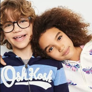 50% Off + Extra 30% Off $60OshKosh BGosh LOGO Hoodies on Sale