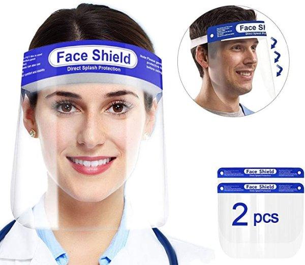 防护面罩 2个