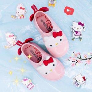 变相7.5折 收 Hello Kitty 款最后一天:Mini Melissa 软萌可爱童鞋热卖 迪士尼款大量上新