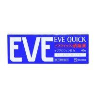 EVE QUICK止痛片迅速起效 40粒