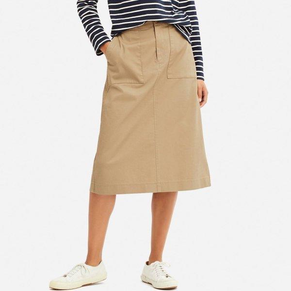 晒货同款 半身裙