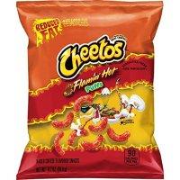 Cheetos 辣味起司味低脂泡芙条 0.7oz. 72包