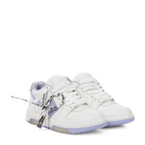 Off-White满$700减$100香芋紫色运动鞋