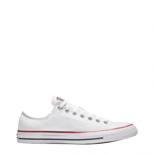 白色低帮帆布鞋
