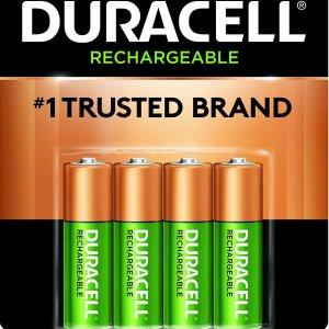 $8.32Duracell 金霸王5号可充电电池 4节装