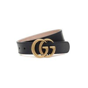 Gucci Kids双G腰带