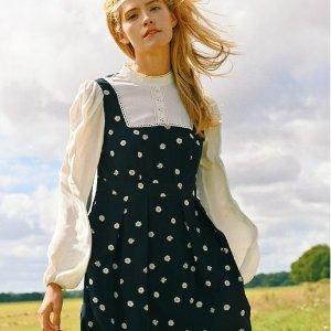 4折起 £22起就收小裙子Miss Patina 田园风专场大促 春夏新款印花裙上线