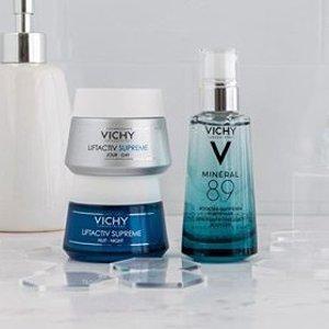 $4.4起 收温泉喷雾Vichy 精选美容护肤品享8折优惠