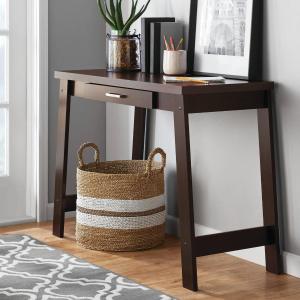 Mainstays 装饰长桌、书桌,带抽屉