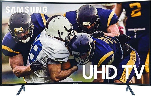 三星 65寸 RU7300 曲面4K 超高清 HDR 智能电视