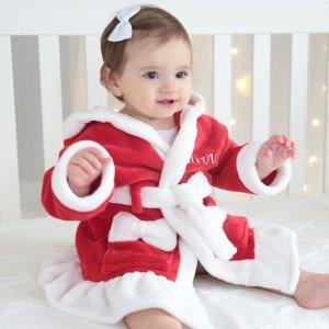 额外最高8折My 1st Years 超可爱定制浴袍圣诞上新款 留下最值得印刻的童年