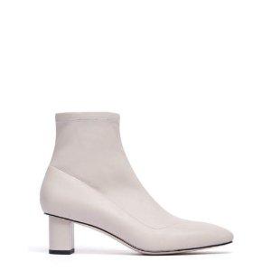 方趾块跟靴
