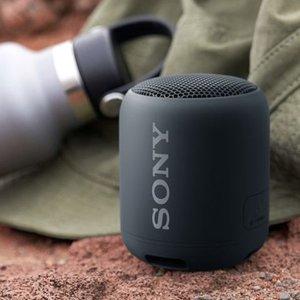 Sony黑色蓝牙音响
