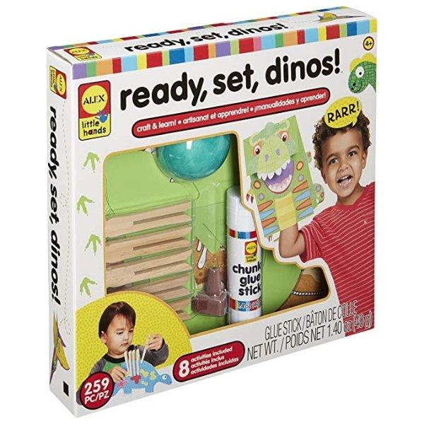 小恐龙手工玩具