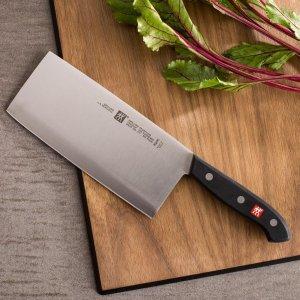 $67.96(原价$100)Zwilling J.A. Henckels 德国双立人七寸中式菜刀