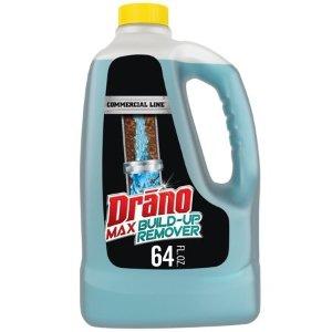 Drano Max Build-Up Remover, Commercial Line, 64 fl oz