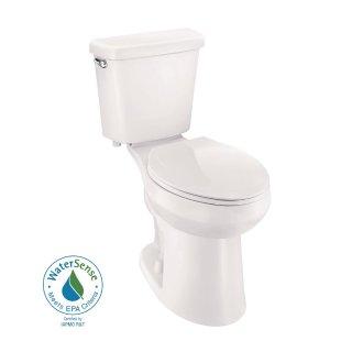 Glacier Bay 2-piece 1.0 GPF Single Flush Elongated Toilet