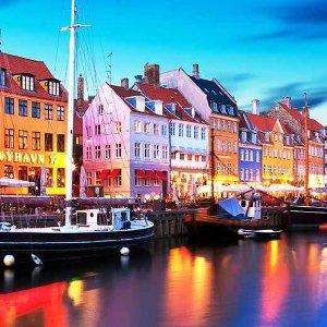 76折 人均£89起走进童话故乡2-3晚哥本哈根自由行套餐
