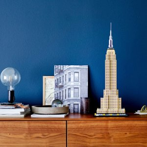6.8折 €65.99(原价€97.47)LEGO 建筑系列 帝国大厦 21046 纽约地标搬回家