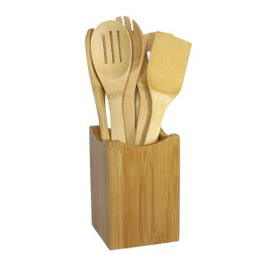 $10.88 Oceanstar Bamboo Cooking Utensil Set, 7-Piece