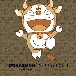 萌系联动 牛气满满Gucci x 哆啦A梦联名系列上新 蓝胖子助你牛年行大运