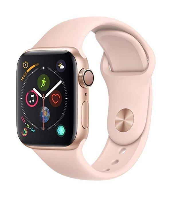 Watch Series4 (GPS, 40mm) 粉色运动型表带