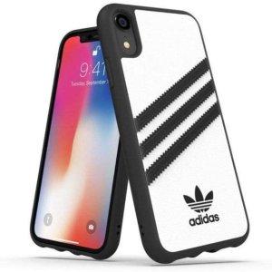 $29.68(原价$34.68)adidas iPhone XR 三叶草手机壳 经典黑白 帅气十足