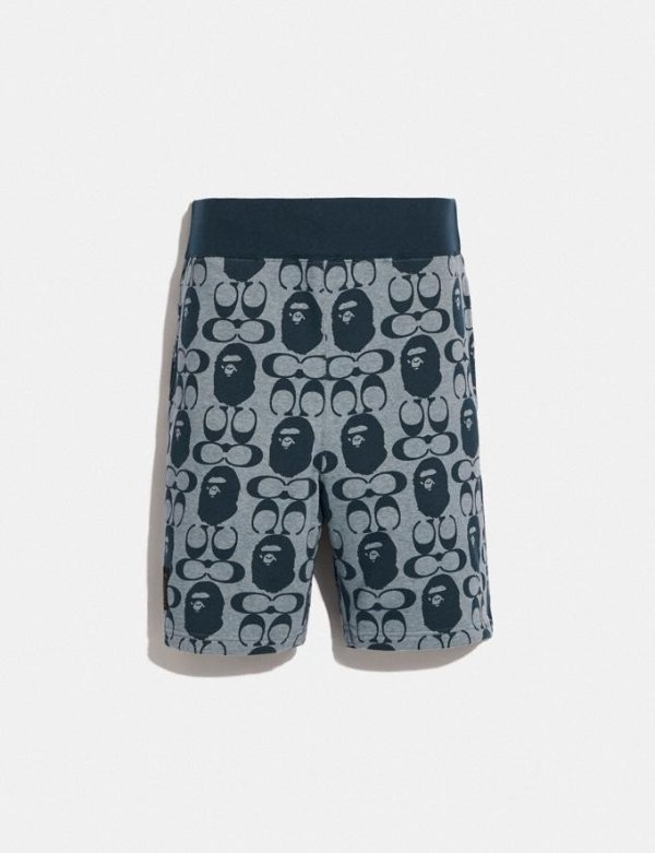 Bape X Coach 短裤