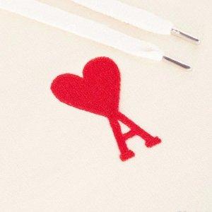 低至5折 众多新款已陆续加入!降价+上新:AMI 爱心潮服 卫衣、针织衫 收ssense独家版爱心毛衣
