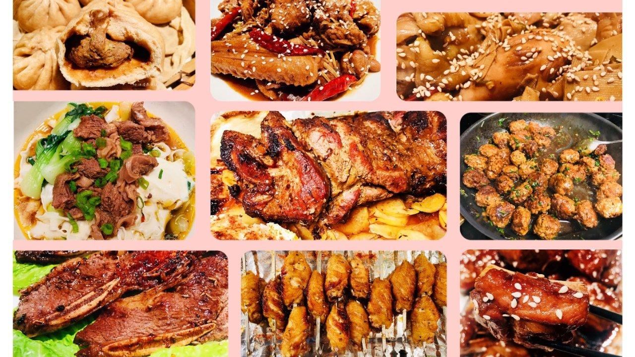 无肉不欢 | 分分钟上桌的中式感恩节大餐(18道肉食大餐菜谱)