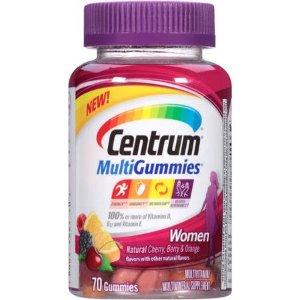 $6.76Centrum MultiGummies Women Multivitamin Gummies, 70 Ct