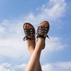 低至5折+额外75折 £18起FitFlop 外穿拖鞋专场大促 暴走一天无压力的神奇拖鞋