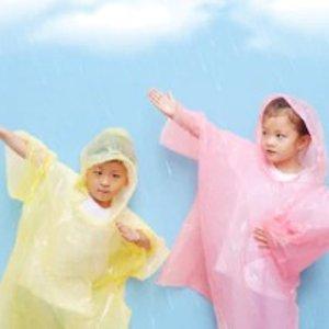 仅$0.98/件 日常囤几件白菜价:Coghlan's 儿童雨衣 下雨天也可以让宝宝自由奔跑