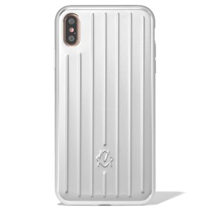 RimowaAluminum Groove Case for iPhone XS Max in Pink | RIMOWA