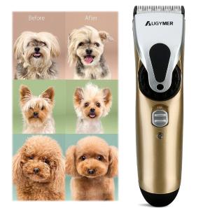 $16.99 (原价$26.99)闪购:AUGYMER 专业宠物猫狗 充电式电推剪/剃毛器