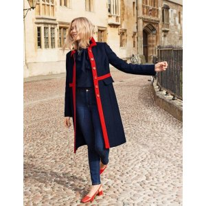 BodenMitford Coat - Navy