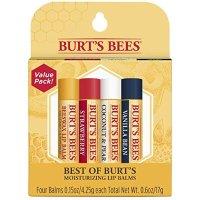 Burt's Bees 天然润唇膏4只装