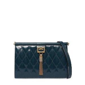 GivenchyGEM MEDIUM QUILTED LEATHER SHOULDER BAG