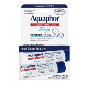 Aquaphor 万用修护霜0.35oz旅行装2支 皮肤科医生推荐
