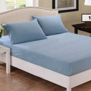 $29 (原价$39.99)  多色可选Park avenue 1000TC棉混纺组合床单套装限时促销